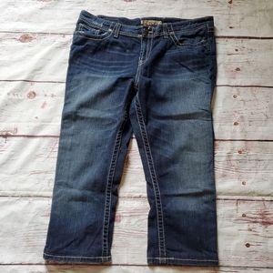 BKE Harper Crop Jeans Size 34